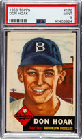 Baseball Cards:Singles (1950-1959), 1953 Topps Don Hoak #176 PSA Mint 9....