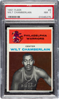 Basketball Cards:Singles (Pre-1970), 1961 Fleer Wilt Chamberlain #8 PSA NM 7....