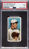 Baseball Cards:Singles (Pre-1930), 1909-11 T206 Piedmont 350 Walter Johnson (Hands at Chest) PSA NM 7....