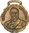 Political:Ribbons & Badges, Theodore Roosevelt: One-Day Event Banquet Souvenir Watch Fob. ...