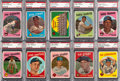 Baseball Cards:Lots, 1959 Topps Baseball PSA-Graded Collection (20). ...