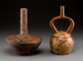 Pre-Columbian:Ceramics, Two Pre-Columbian Vessels... (Total: 2 Items)