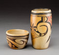 American Indian Art:Pottery, Two Hopi Pottery Vessels... (Total: 2 Items)