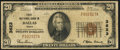 National Bank Notes:Texas, Dallas, TX - $20 1929 Ty. 1 First NB Ch. # 3623. ...