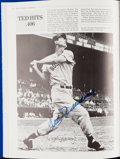 Autographs:Others, Great Moments in Baseball Multi-Signed Book (30 Signatures)with Williams & Koufax....