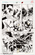 Original Comic Art:Panel Pages, Mark Bagley, Larry Mahlstedt, and Don Hudson The NewWarriors #20 Story Page 3 Original Art (Marvel, 1992)....