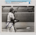 Explorers:Space Exploration, Cincinnati Reds: Johnny Bench Signed Photo to Neil Armstrong Directly From The Armstrong Family Collection™, Certified and...