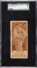 Baseball Cards:Singles (Pre-1930), 1928 Babe Ruth Candy Co. Babe Ruth #1 SGC 40 VG 3....