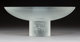 Limited Edition Lalique Clear and Frosted Glass Memphis Center Bowl with Original Box Post-1945. Engraved Lal