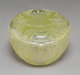 R. Lalique Clear and Frosted Glass Quatre Scarabees Box with Green Patina Circa 1911. Engraved R. Lalique, Fr