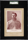 Baseball Cards:Singles (Pre-1930), 1902-11 W600 Sporting Life (Type 4) Mordecai Brown SGC 80 EX/NM 6 - One of Five SGC Graded Examples! ...