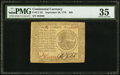 Continental Currency September 26, 1778 $20 PMG Choice Very Fine 35