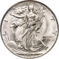 Walking Liberty Half Dollars, 1938-D 50C MS67 PCGS. CAC....