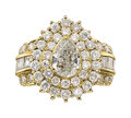 Estate Jewelry:Brooches - Pins, Diamond, Gold Ring. ...