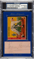 Autographs:Sports Cards, 2013 Historic Autographs 1933 Goudey Roger Hornsby With Cut Signature PSA/DNA Authentic. ...