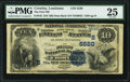National Bank Notes:Louisiana, Crowley, LA - $10 1882 Date Back Fr. 545 The First NB Ch. # (S)5520 PMG Very Fine 25.. ...