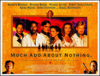 """Much Ado About Nothing (Entertainment, 1993). British Quad (30"""" X 40""""). Comedy"""