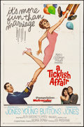 """Movie Posters:Comedy, A Ticklish Affair & Other Lot (MGM, 1963). One Sheet (27"""" X 41""""). Comedy.. ... (Total: 2 Items)"""