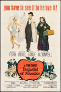 """Movie Posters:Comedy, Pocketful of Miracles & Other Lot (United Artists, 1962). One Sheets (2) (27"""" X 41""""). Comedy.. ... (Total: 2 Items)"""