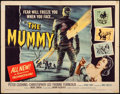 "Movie Posters:Horror, The Mummy (Universal International, 1959). Half Sheet (22"" X 28"").Artwork by Joseph Smith. Horror.. ..."