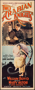 """Movie Posters:Comedy, Two Arabian Knights (United Artists, 1927). Insert (14"""" X 36"""").Comedy.. ..."""