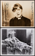 """Movie Posters:Miscellaneous, Blanche Sweet & Other Lot (1920s). Autographed Linen Backed Keybook Photo (10"""" X 7.75"""") & Autographed photo (10"""" X 8""""). Misc... (Total: 2 Items)"""