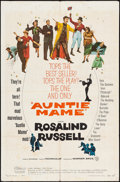 "Movie Posters:Comedy, Auntie Mame & Other Lot (Warner Brothers, 1958). Folded, Fine.One Sheets (2) (27"" X 41""). Comedy.. ... (Total: 2 I..."