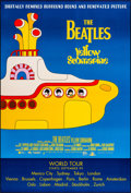 """Miscellaneous, Yellow Submarine (United Artists, R-1999). International One Sheet (27"""" X 40""""). DS Advance. Animation...."""