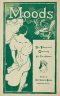 Fine Art - Work on Paper:Print, John French Sloan (1871-1951). Moods, poster, 1895. Lithograph in green on paper. 20 x 12-5/8 inches (50.8 x 32.1 cm) (s...