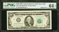 Error Notes:Inking Errors, Inking Error on Face Fr. 2172-B $100 1988 Federal Reserve Note. PMGChoice Uncirculated 64 EPQ.. ...