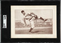 Baseball Cards:Singles (Pre-1930), 1910-12 Plow Boy Mordecai Brown (Ad Back) SGC 1.5 FR - Only Four SGC Graded Examples! ...