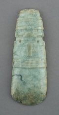 Pre-Columbian:Stone, An Important Costa Rican Jade Celt...