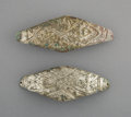 Pre-Columbian:Metal/Gold, Two Inca Silver Diadems or Armbands... (Total: 2 Items)