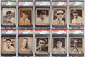 Baseball Cards:Lots, 1940 Play Ball PSA-Graded Collection (13). ...