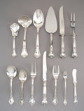 Silver & Vertu:Flatware, Fifty-Two Piece Gorham Silver Chantilly Pattern Flatware Service. Designed 1899. Marked (lion-anchor-G), STERL... (Total: 52 Items)