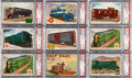 Non-Sport Cards:Sets, 1955 Topps Rails and Sails PSA-Graded Partial Set (57/200) Plus Two Extras. ...