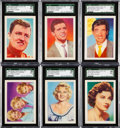 """Non-Sport Cards:Sets, 1959 Kane Products """"Disc Stars"""" SGC Graded Complete Set (50)...."""