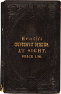 Books, Heath, Laban. Heath's Infallible Counterfeit Detector atSight... ...