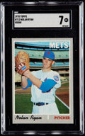 Baseball Cards:Singles (1970-Now), 1970 Topps Nolan Ryan #712 SGC NM 7....