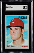 Baseball Cards:Singles (1970-Now), 1970 Topps Pete Rose #580 SGC NM/MT 8....