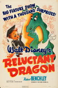 "Movie Posters:Animation, The Reluctant Dragon (RKO, 1941). One Sheet (27"" X 41"") GlennCravath Artwork.. ..."