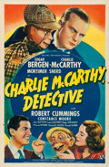 """Movie Posters:Comedy, Charlie McCarthy, Detective (Universal, 1939). One Sheet (27"""" X41"""") Style A.. ..."""