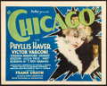 """Movie Posters:Crime, Chicago (Pathé, 1927). Title Lobby Card (11"""" X 14"""").. ..."""