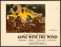 "Movie Posters:Academy Award Winners, Gone with the Wind (MGM, 1939). Deluxe Color Glos Lobby Card (11"" X 14"").. ..."