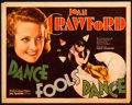 "Movie Posters:Drama, Dance Fools Dance (MGM, 1931). Title Lobby Card (11"" X 14"").. ..."