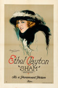 """Movie Posters:Drama, Sham (Paramount, 1921). One Sheet (27"""" X 41"""") Style B. From the Collection of Frank Buxton, of which the sale's proceeds w..."""