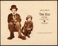 """Movie Posters:Comedy, The Kid (First National, 1921). Title Lobby Card (11"""" X 14"""").From the Collection of Frank Buxton, of which the sale'spro..."""
