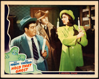 """Hold That Ghost (Universal, 1941). Lobby Card (11"""" X 14""""). From the Collection of Frank Buxton, of which the s..."""