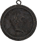 Political:Tokens & Medals, Zachary Taylor: Brass Shell Locket. ...