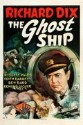 "Movie Posters:Horror, The Ghost Ship (RKO, 1943). One Sheet (27"" X 41"") William RoseArtwork.. ..."